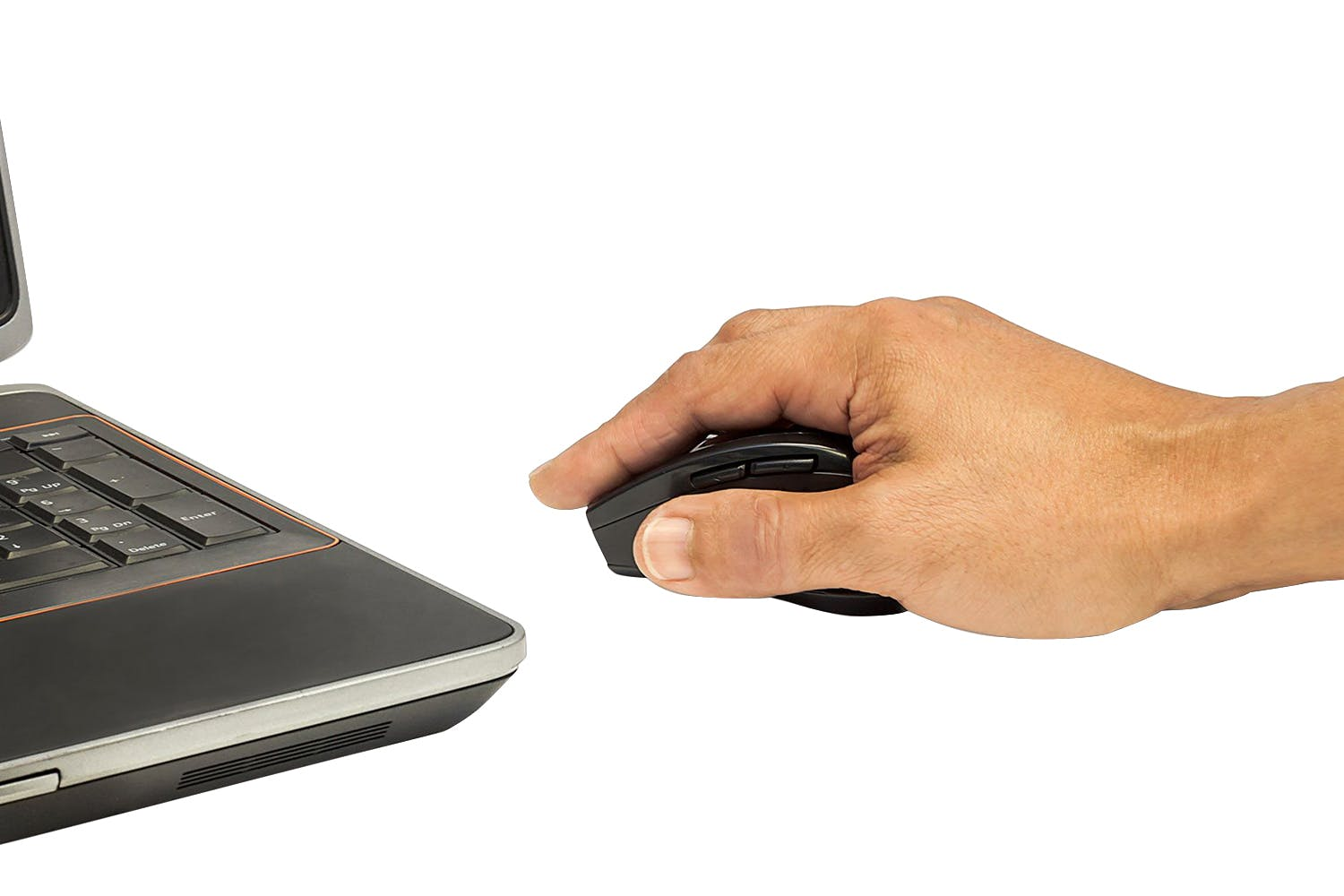 Manhattan Curve Wireless Optical Mouse | Black