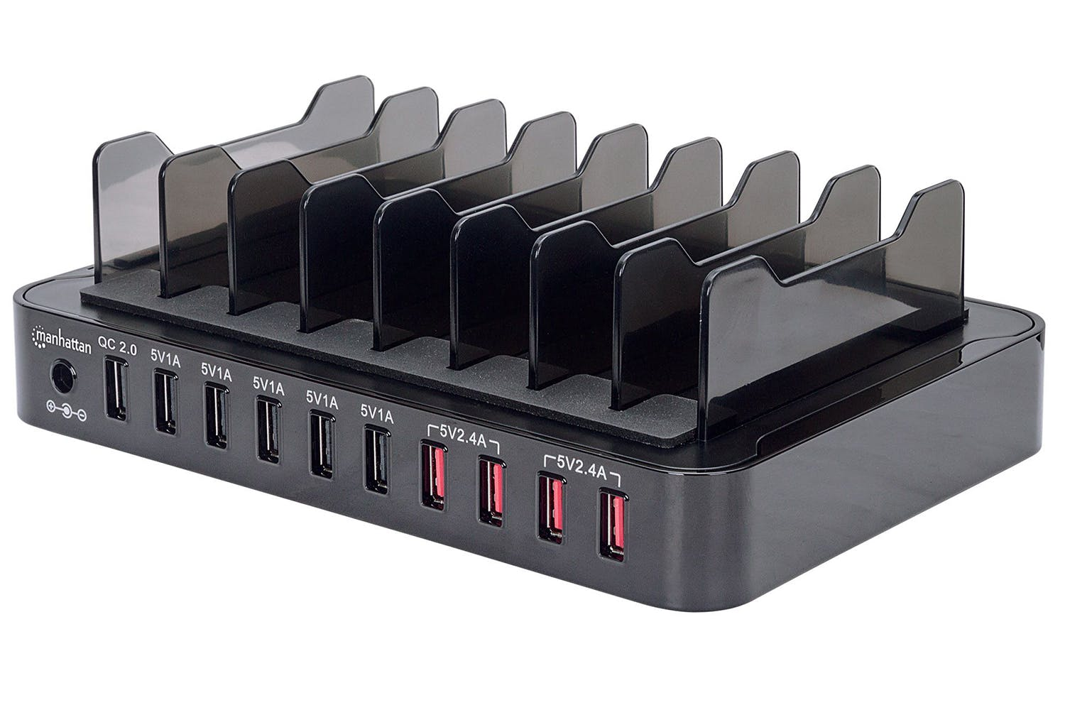 Manhattan 10-Port USB Charging Station