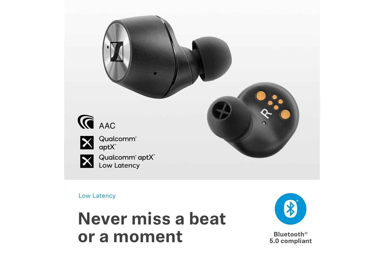 1e46cf7b998 Sennheiser Momentum True Wireless Earbuds | Black | Ireland
