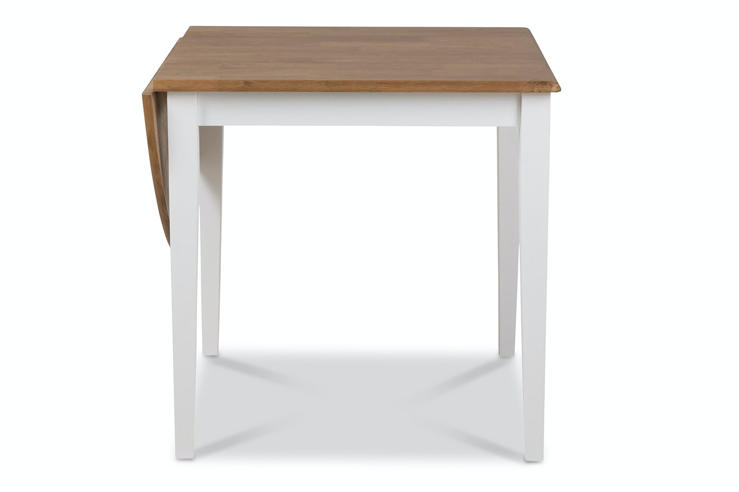 183 & Mindy Extendable Dining Table | White | 75cm