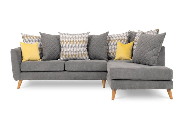 Lara Chaise Sofa | Pillow Back