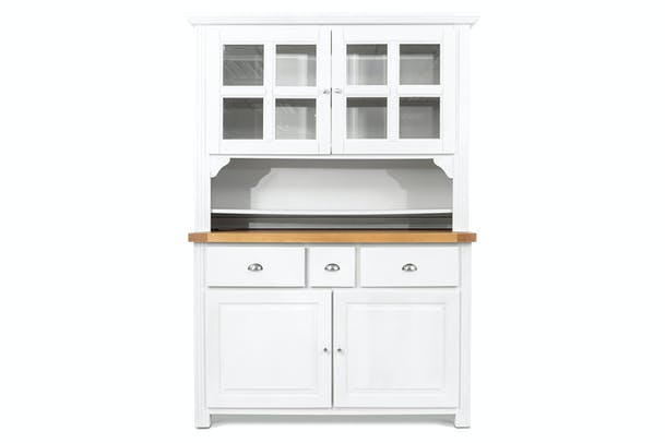 Harvest Buffet & Hutch | White