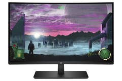 "HP 27"" Full HD Curved Monitor 