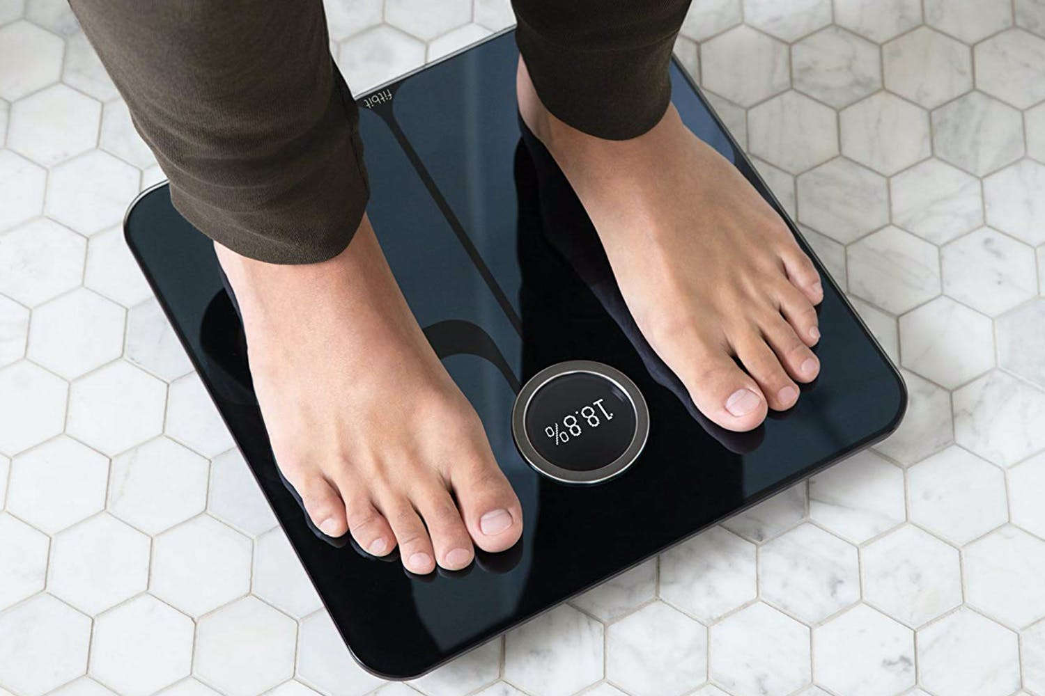 Fitbit Aria 2 Wi-Fi Smart Scale | Black
