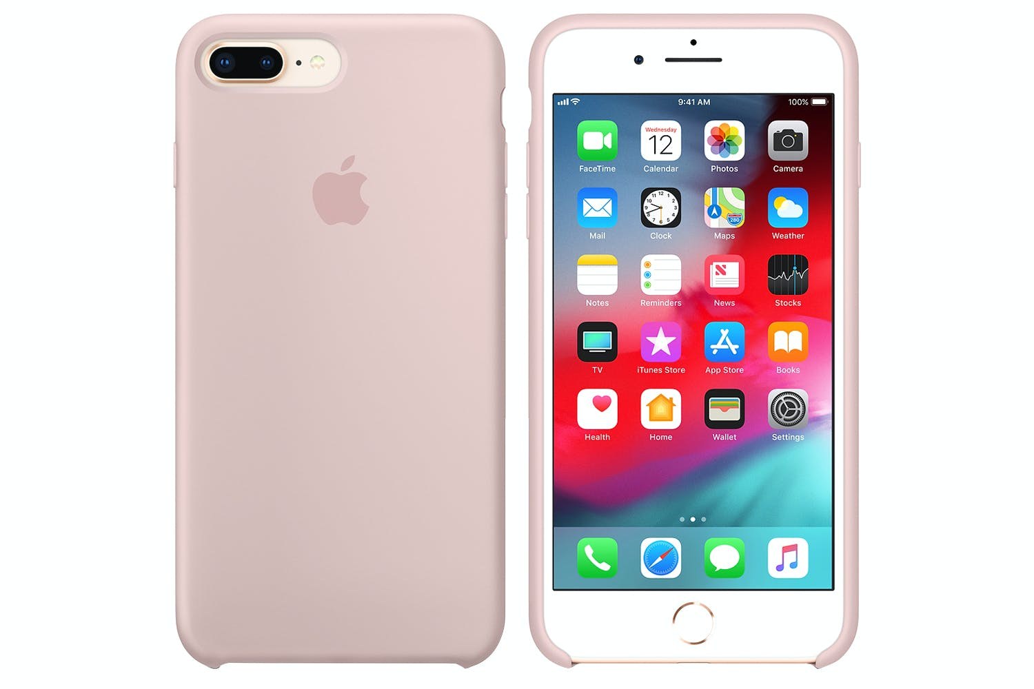 newest collection 8389b cfa7b iPhone X Silicone Case   Pink Sand