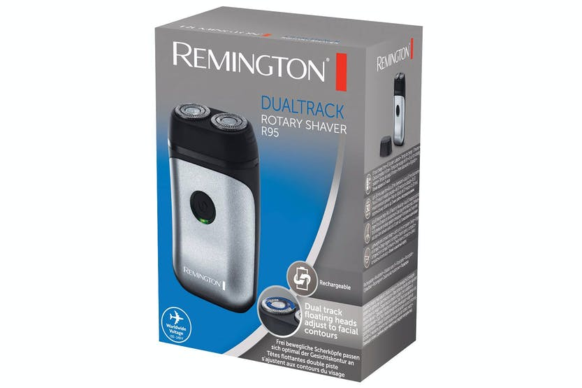 Remington Dual Flex Travel Rotary Shaver | R95