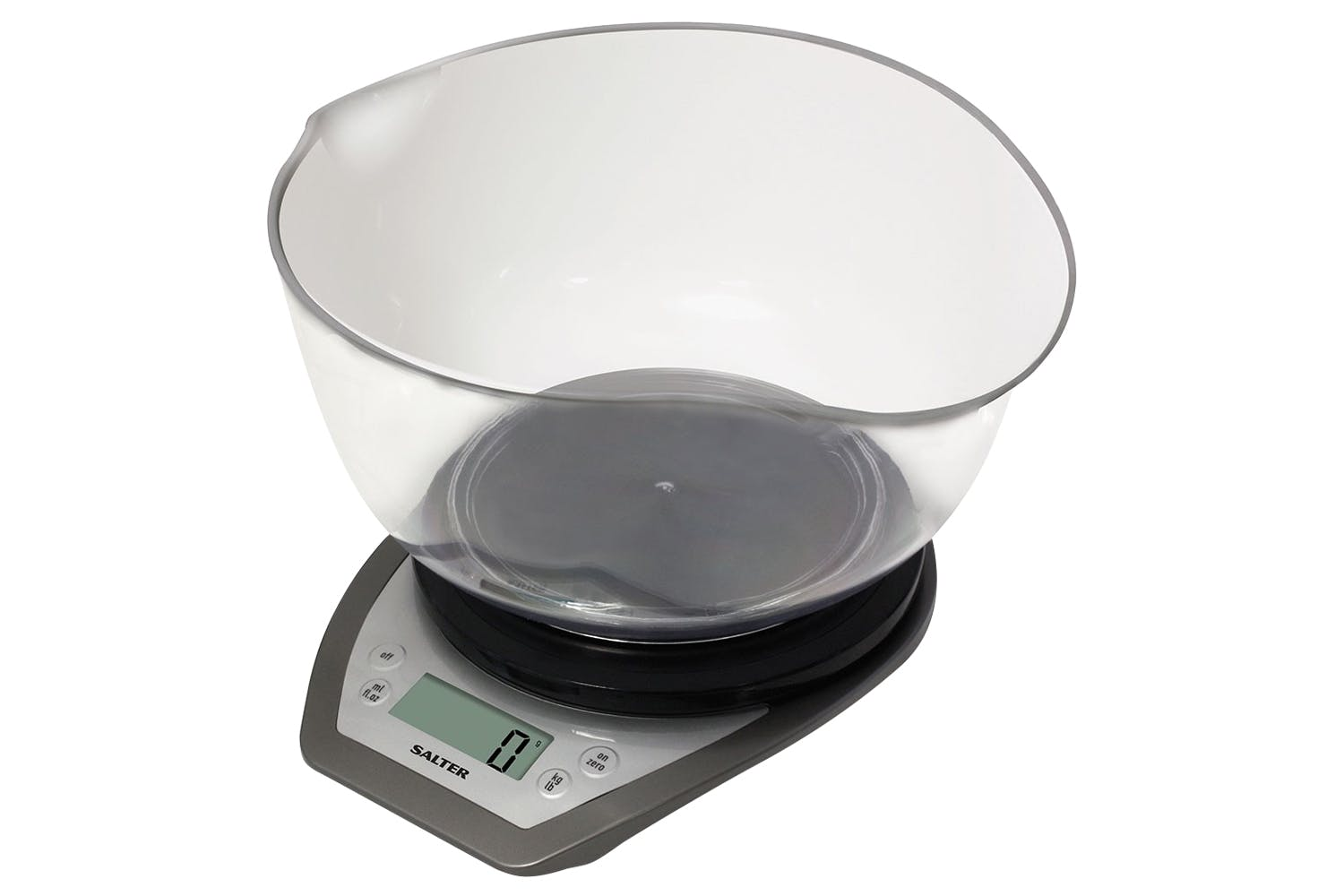 Salter Mixing Bowl Kitchen Scales 1024svdr Silver Ireland
