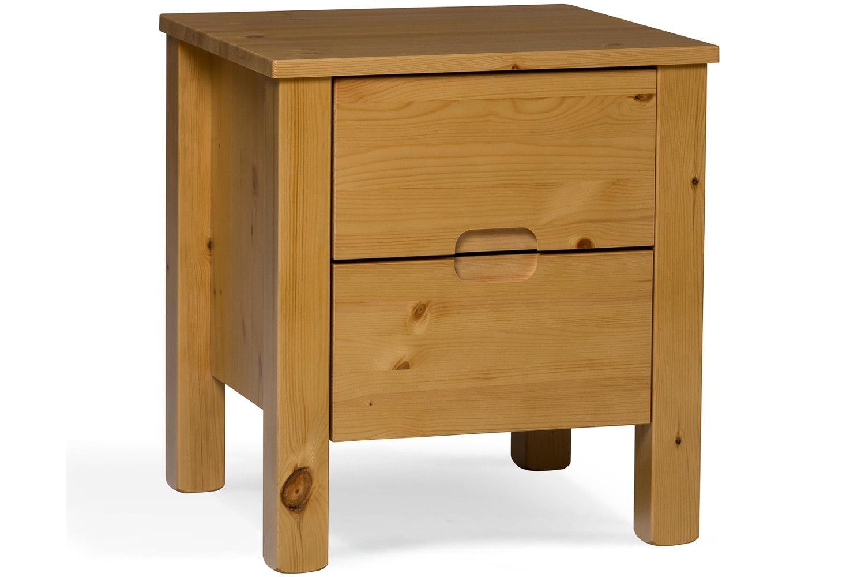 Emily 2 Drawer Bedside Locker