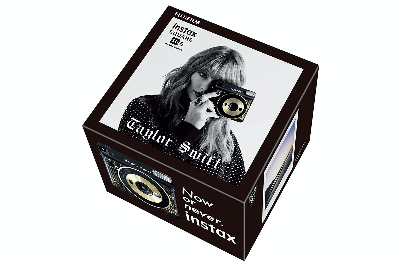 Fujifilm Instax SQ6 Taylor Swift Edition Film Camera | Black