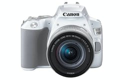 Canon EOS 250D & EF-S 18-55mm f/4-5.6 IS STM Lens | White
