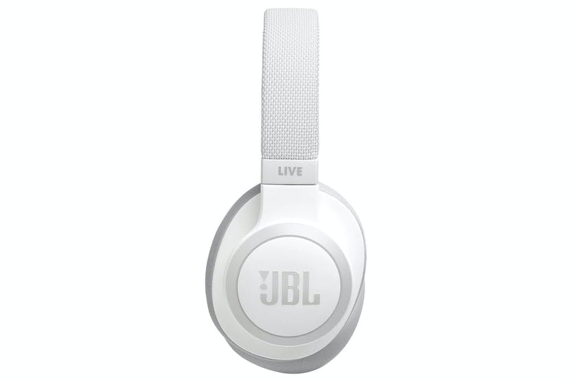 JBL Live 650BTNC Wireless Over-Ear Noise-Cancelling Headphones | White