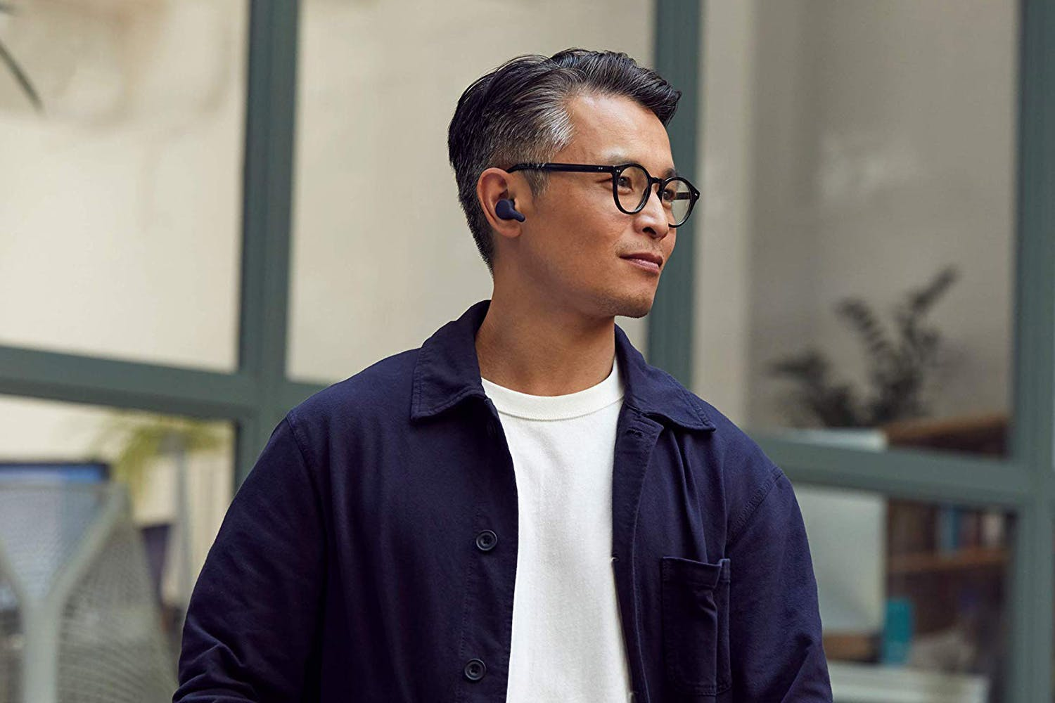 RHA TrueConnect Wireless Earbuds | Navy