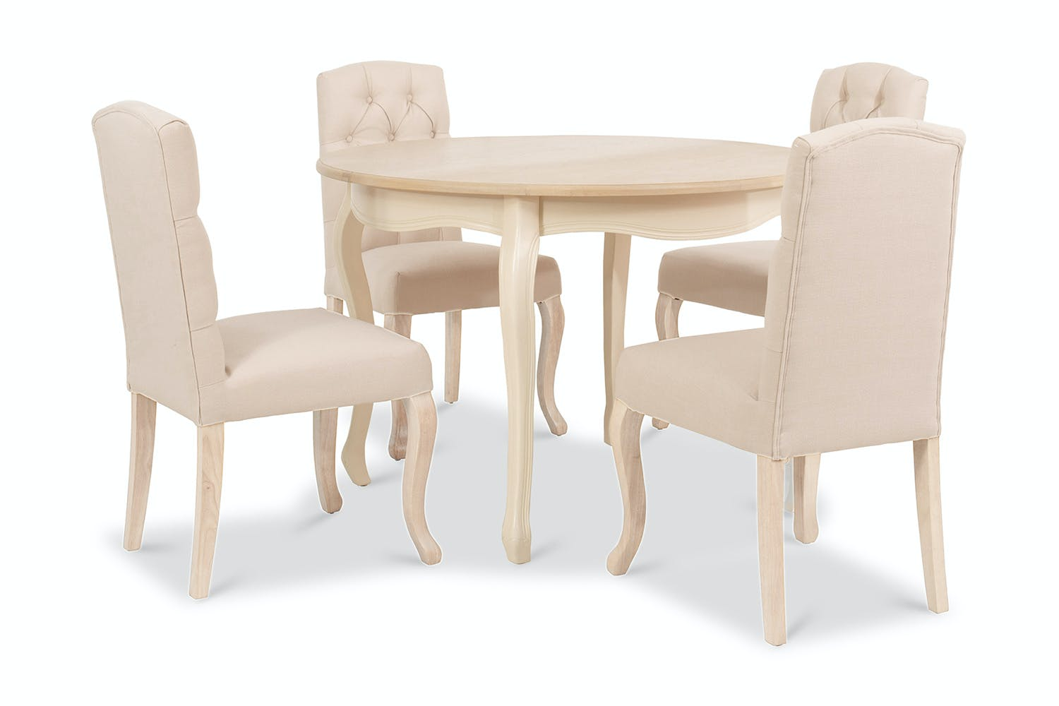 Fleur Dining Set | 5 Piece | Colourtrend | Round