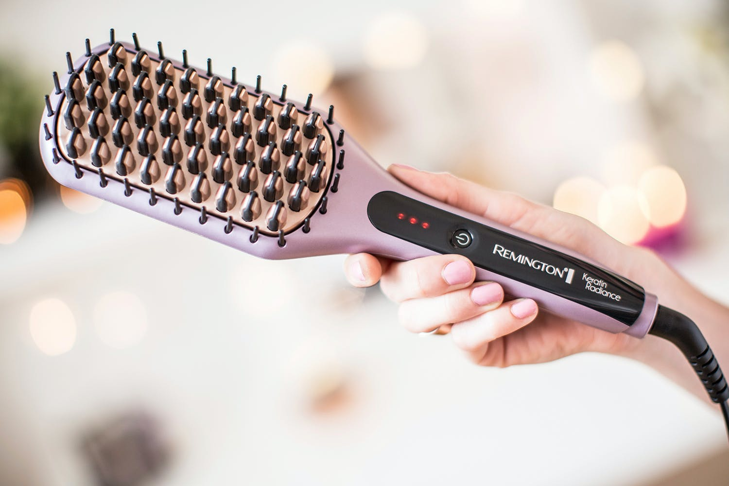 Remington Keratin Radiance Sleek and Smooth Brush | CB7401