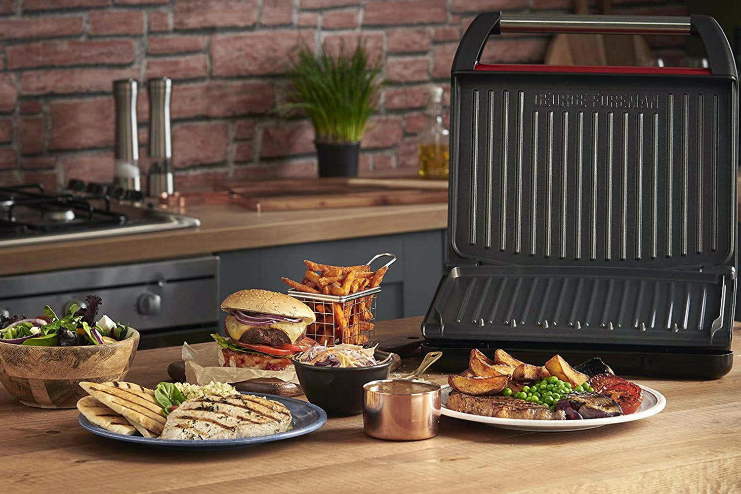 George Foreman Family 7 Portion Entertaining Grill | 25050