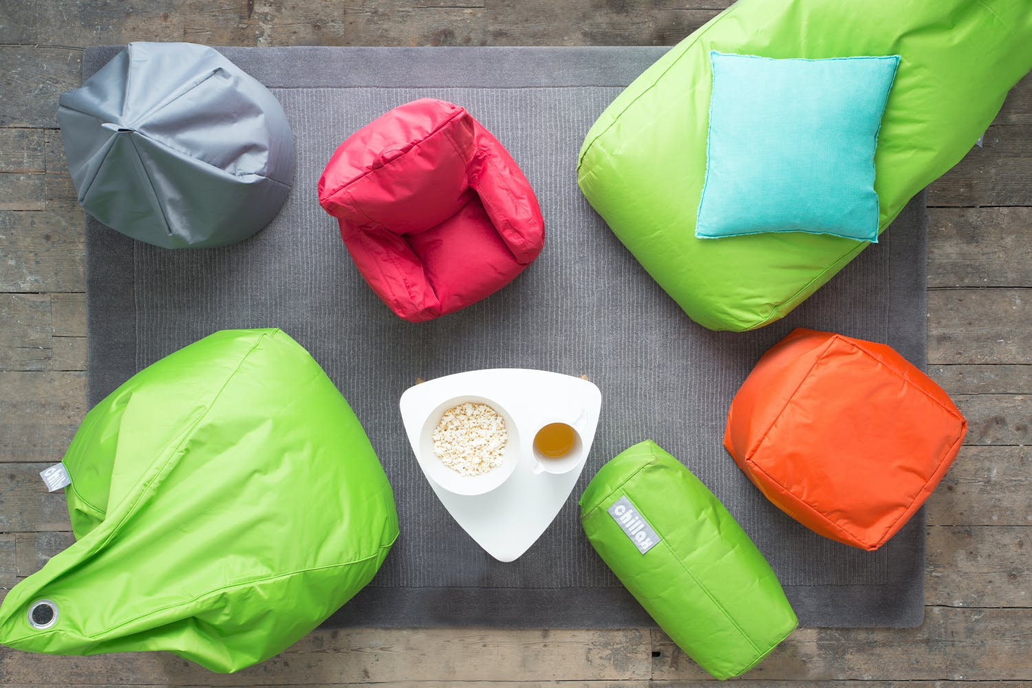 Chillax Bean Bag |  Round |  Colour Options