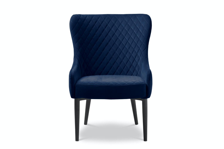 Picture of: Saxon Accent Chair Dark Blue Ireland