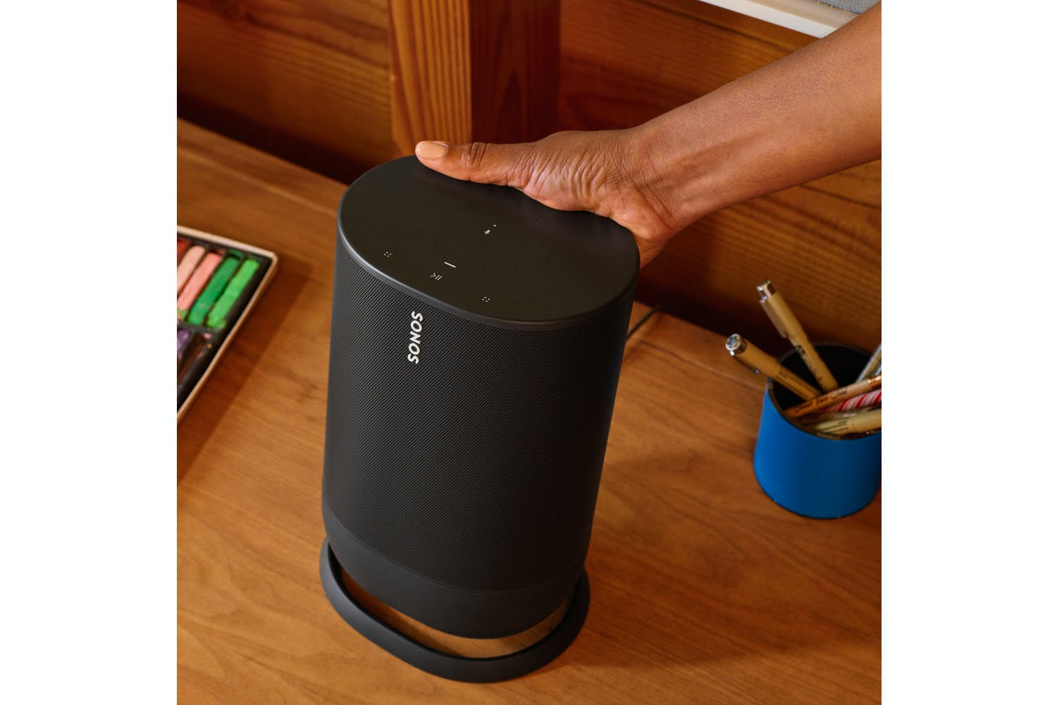 Sonos Move Wireless Smart Speaker | Black