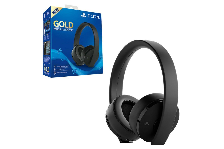 Sony Gold Wireless Headset Ps4 Ireland