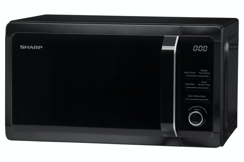 Sharp R274KM 20L 800W Freestanding Microwave Oven Black