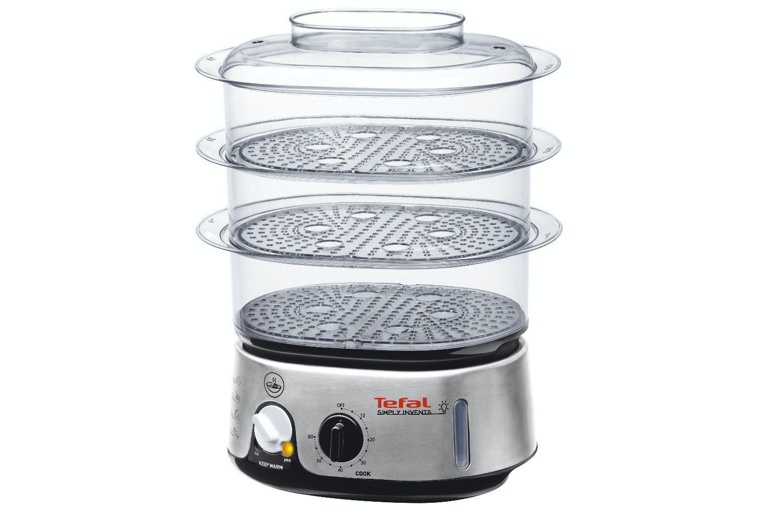 Tefal Simply Invents 3 Tier Steamer | VC101616