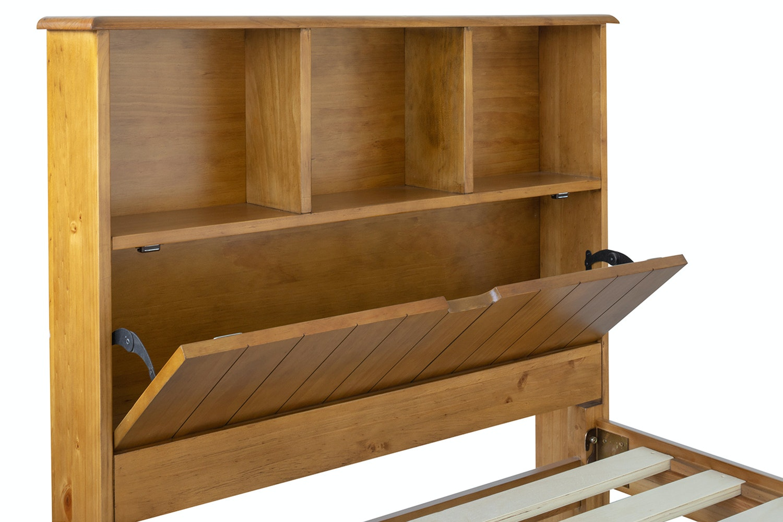 Shaker Single 3ft Storage Headboard Bedframe Rustic Ireland
