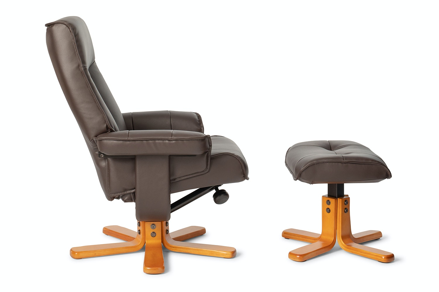 Picture of: Sara Swivel Recliner Chair With Footstool Ireland