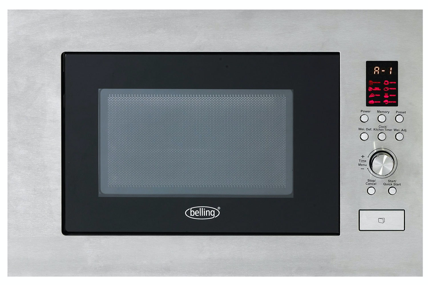 Belling Built-in Microwave | Stainless Steel