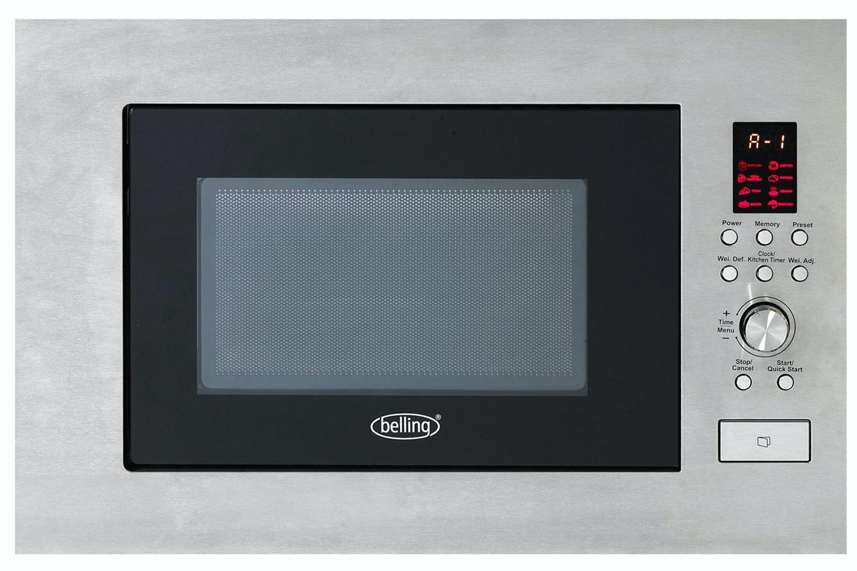 Belling Built-in Microwave | Stainless Steel