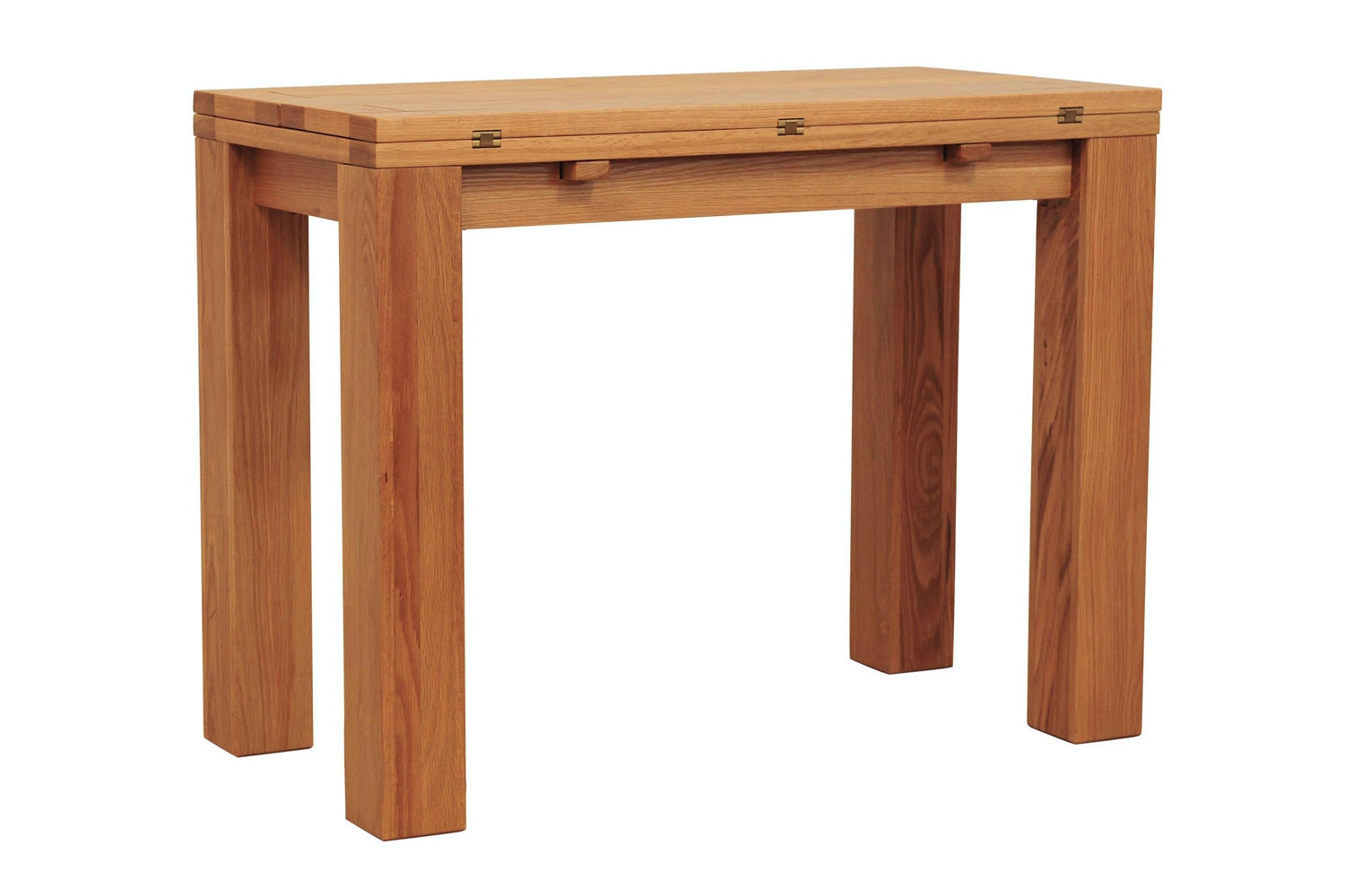 Marvelous Hillary Extending Console Table | Oak ...