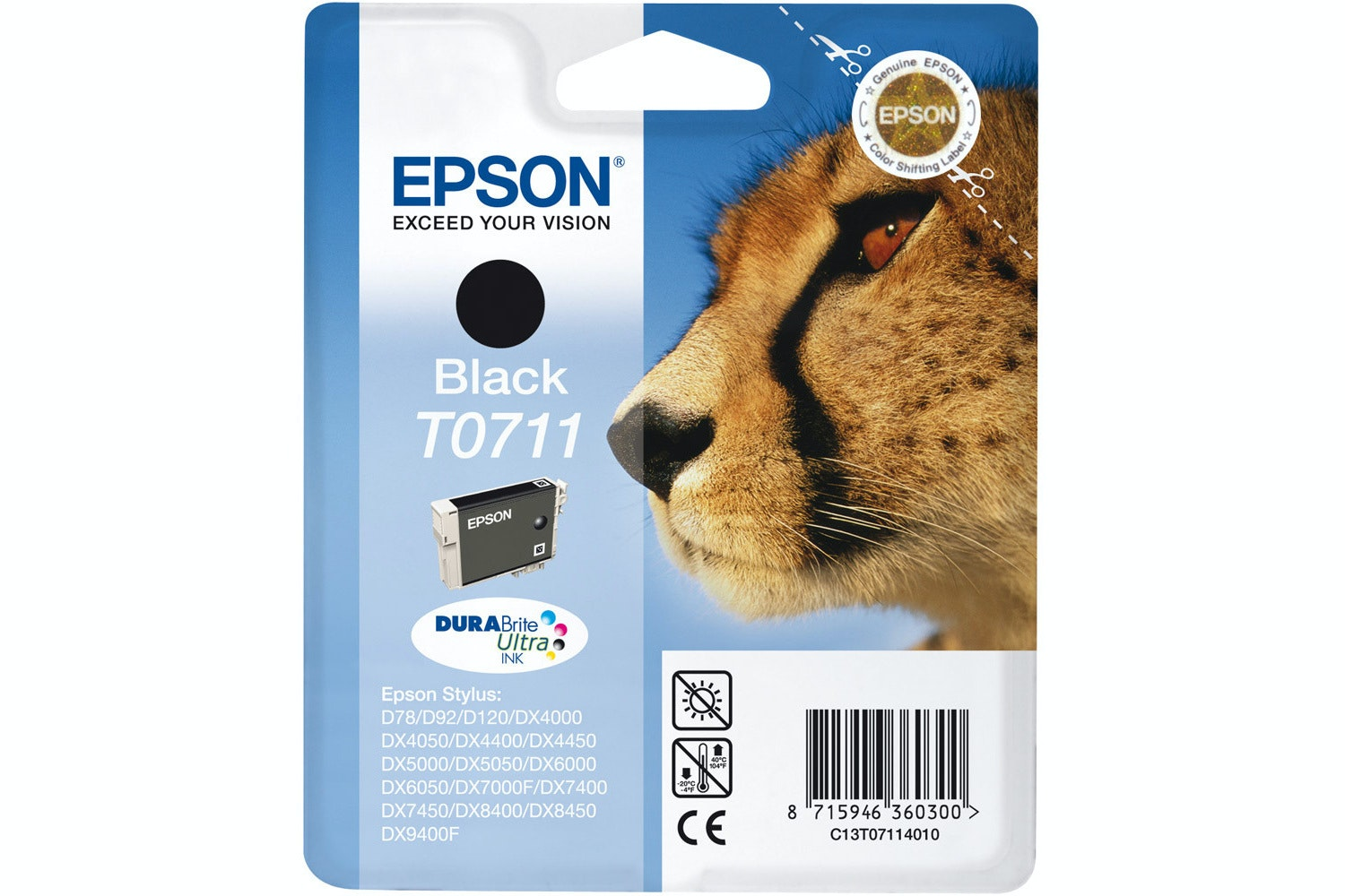 Epson Cheetah Ink Black