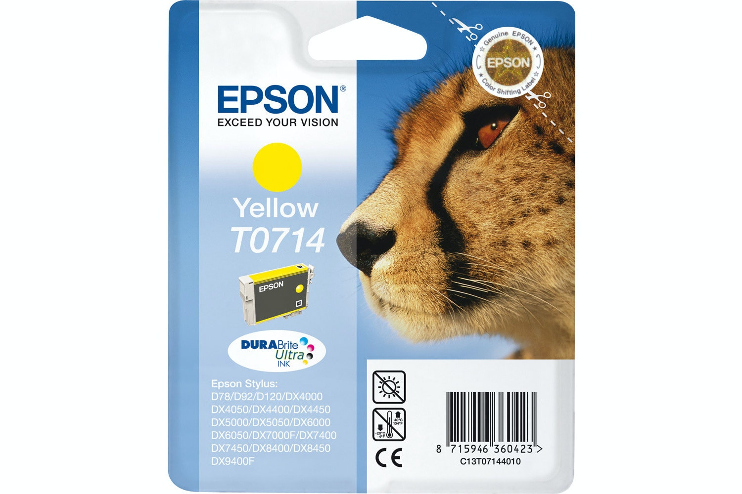 Epson Cheetah Ink Yellow