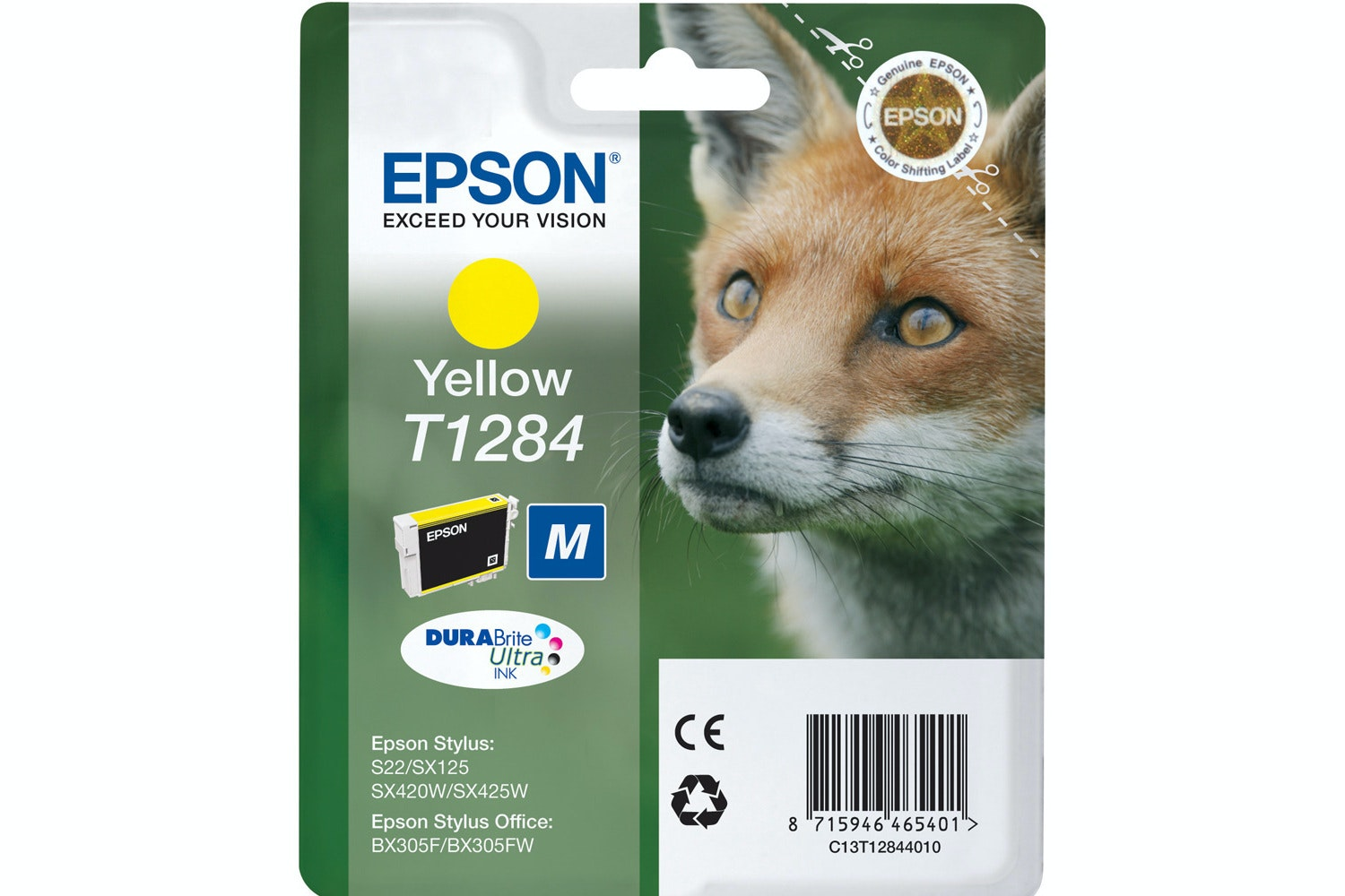Epson Fox Ink | Yellow