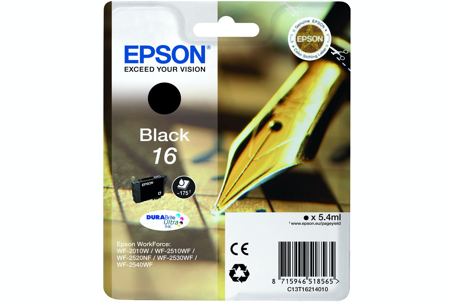 Epson Pen and Crossword Ink Black