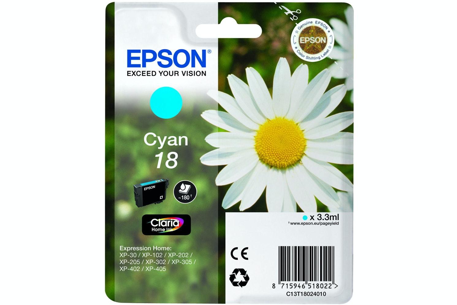 Epson Daisy Ink Cyan