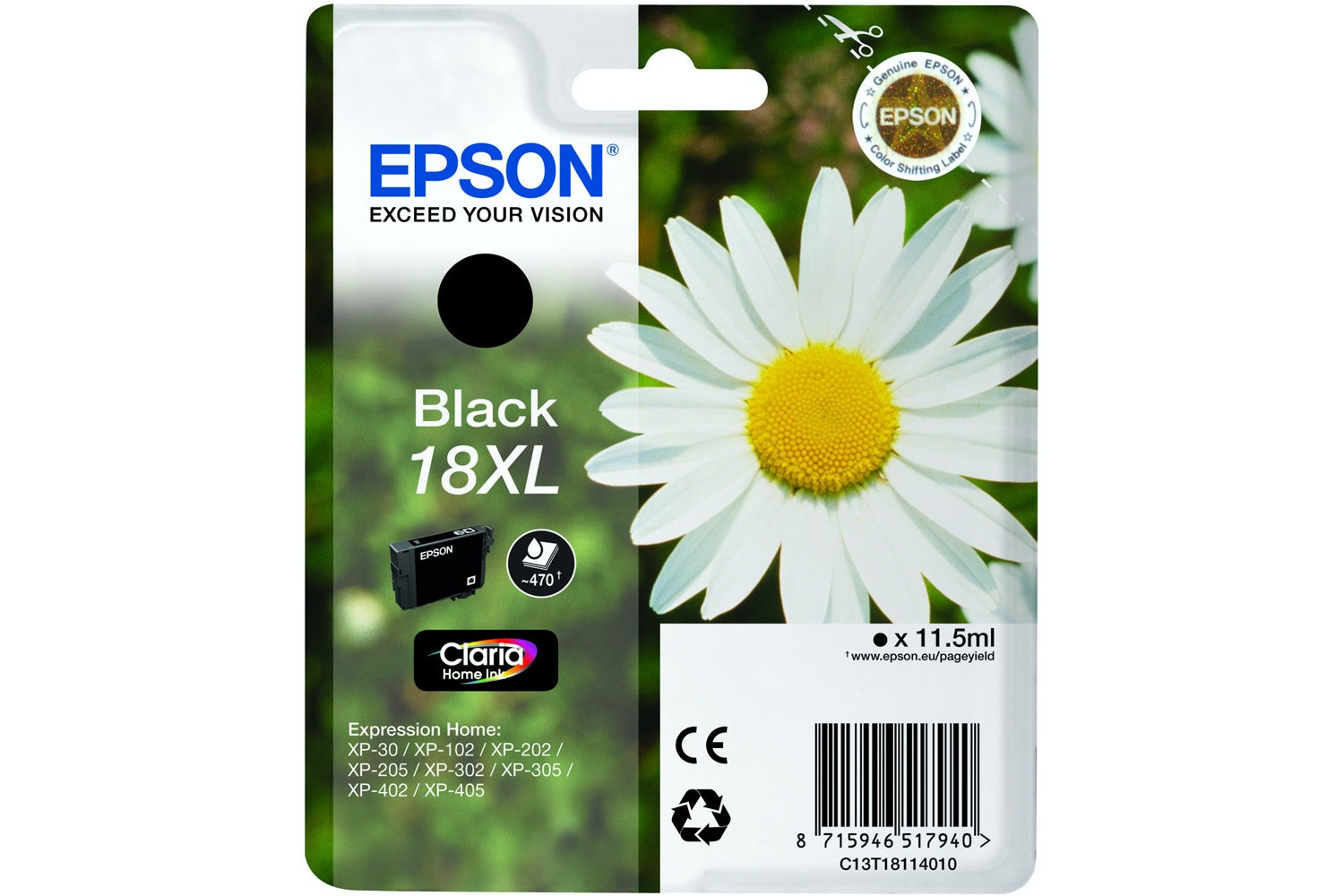 Epson XL Daisy Ink Black