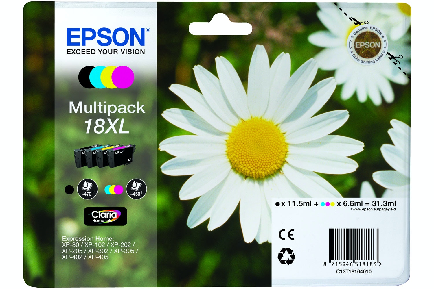 Epson XL Daisy Ink Multipack