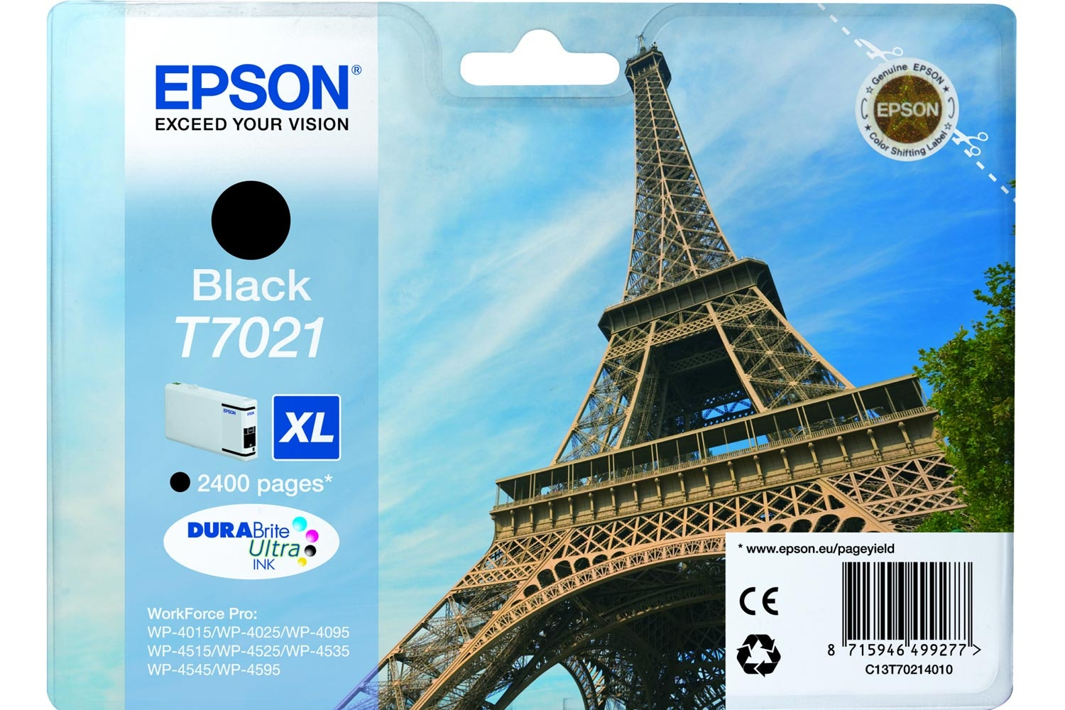 Epson XL Eiffel Tower Ink Black