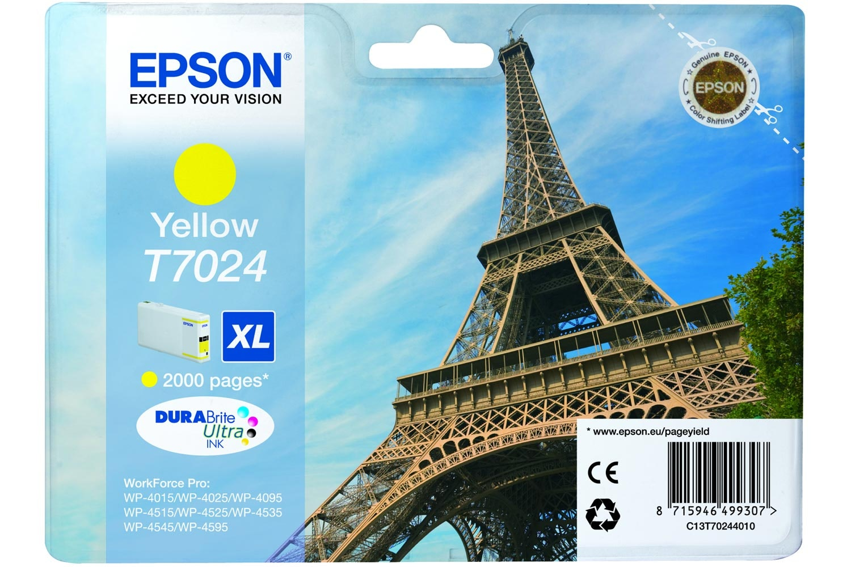 Epson XL Eiffel Tower Ink Yellow