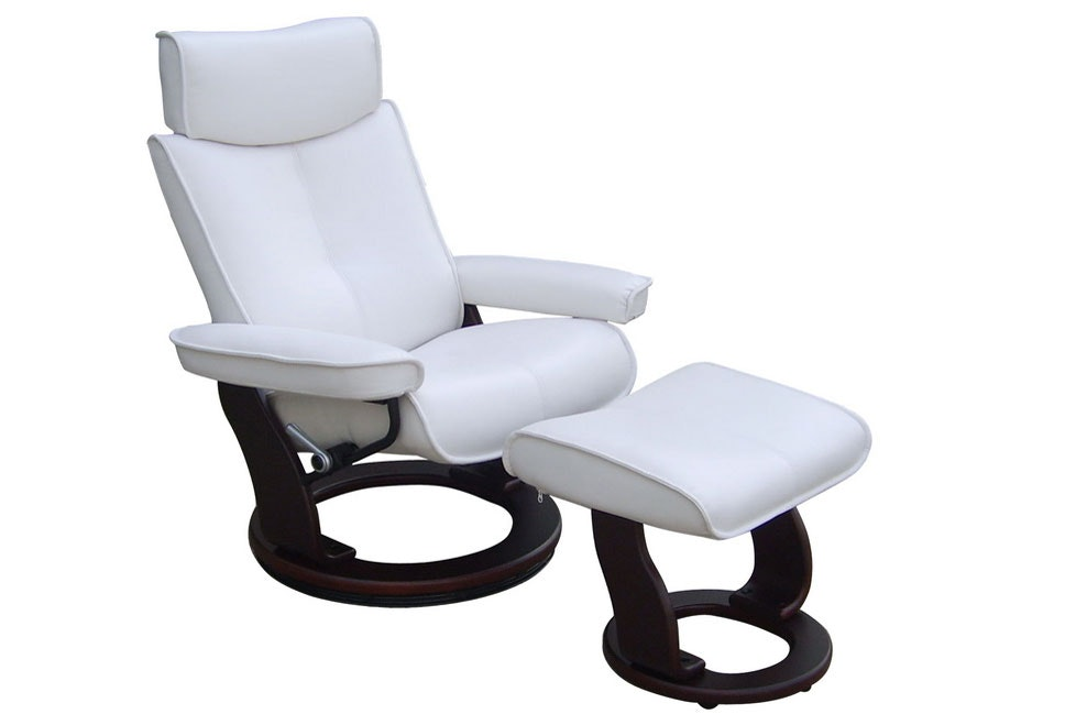 Captains Swivel Chair and Footstool