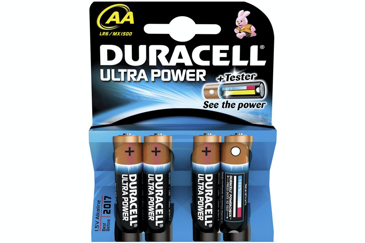 Duracell Ultra Power AA Batteries | 2 Pack
