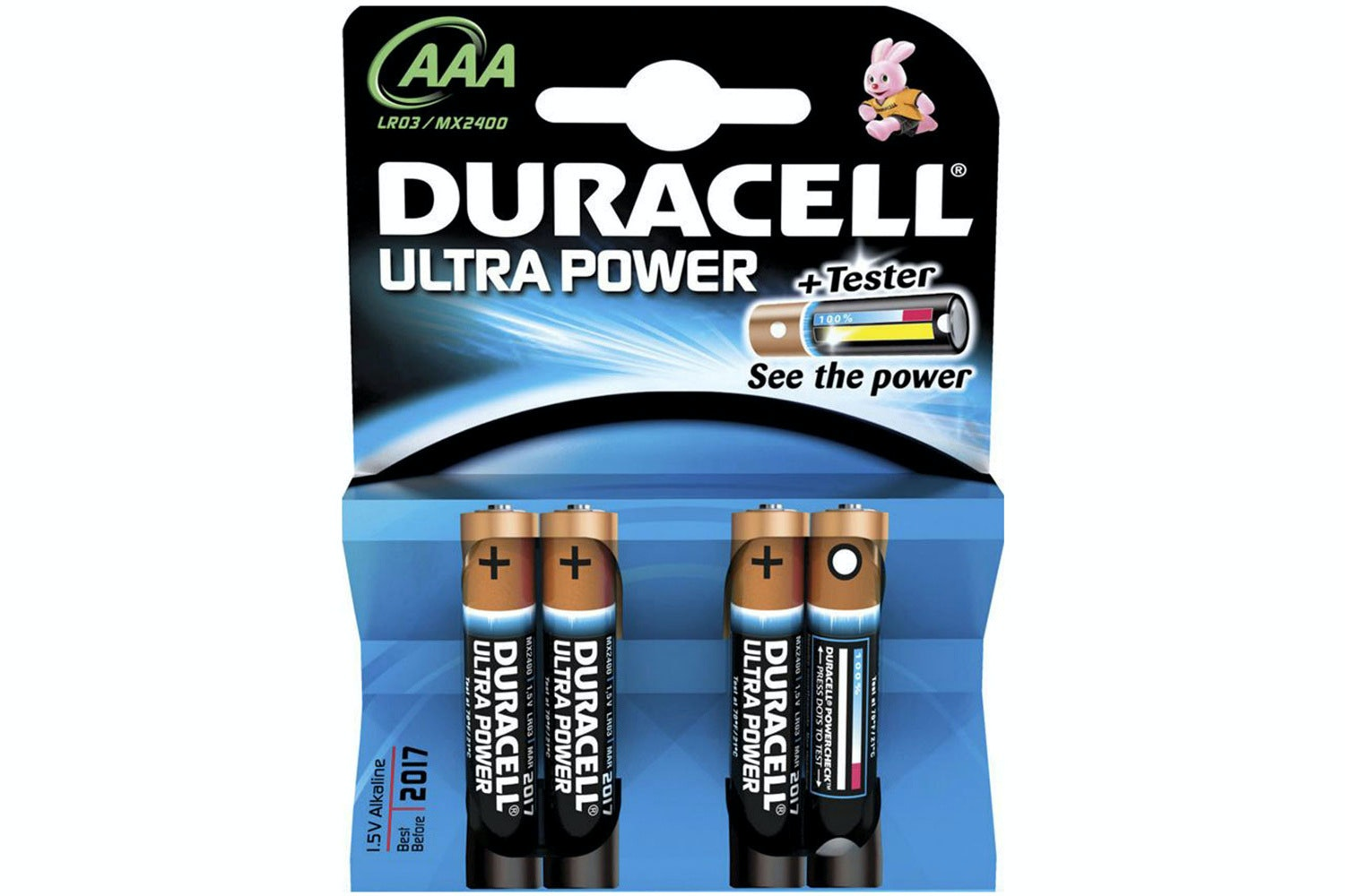 Duracell Ultra Power AAA Batteries | 2 Pack