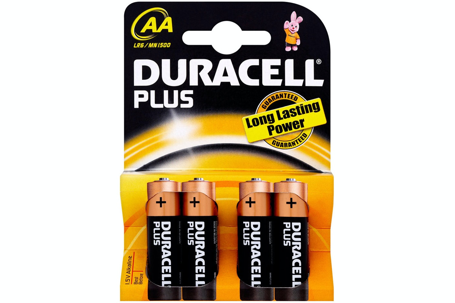Duracell Plus AA Batteries | 4 Pack