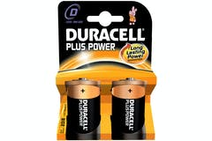 Duracell Plus Power D Battery | 2 Pack