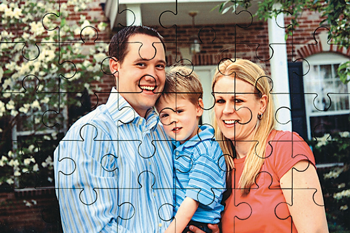 Personalised Photo 35 Piece Puzzle