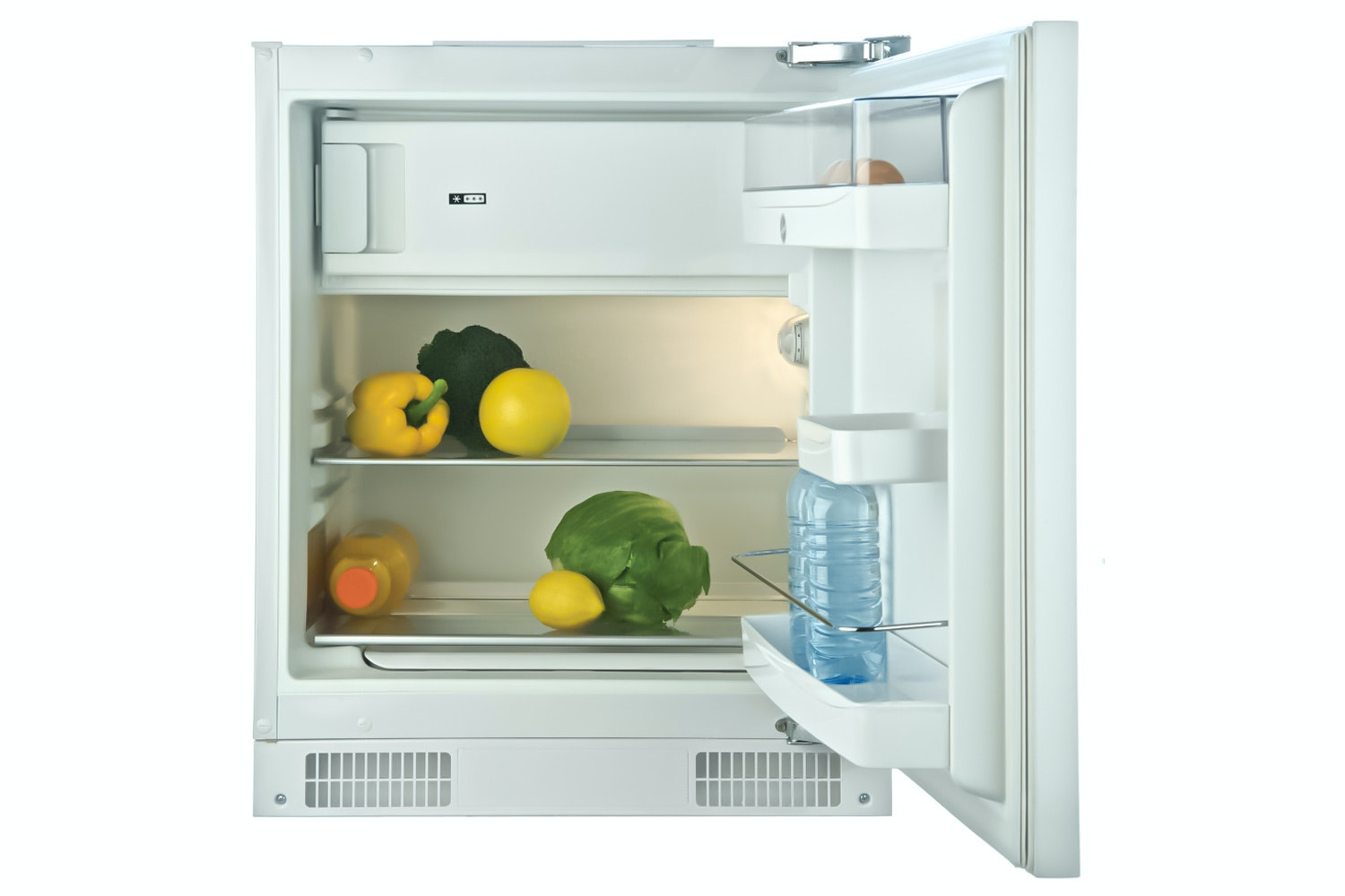 Hoover Under Counter Fridge with Ice Box | HBRUP164K
