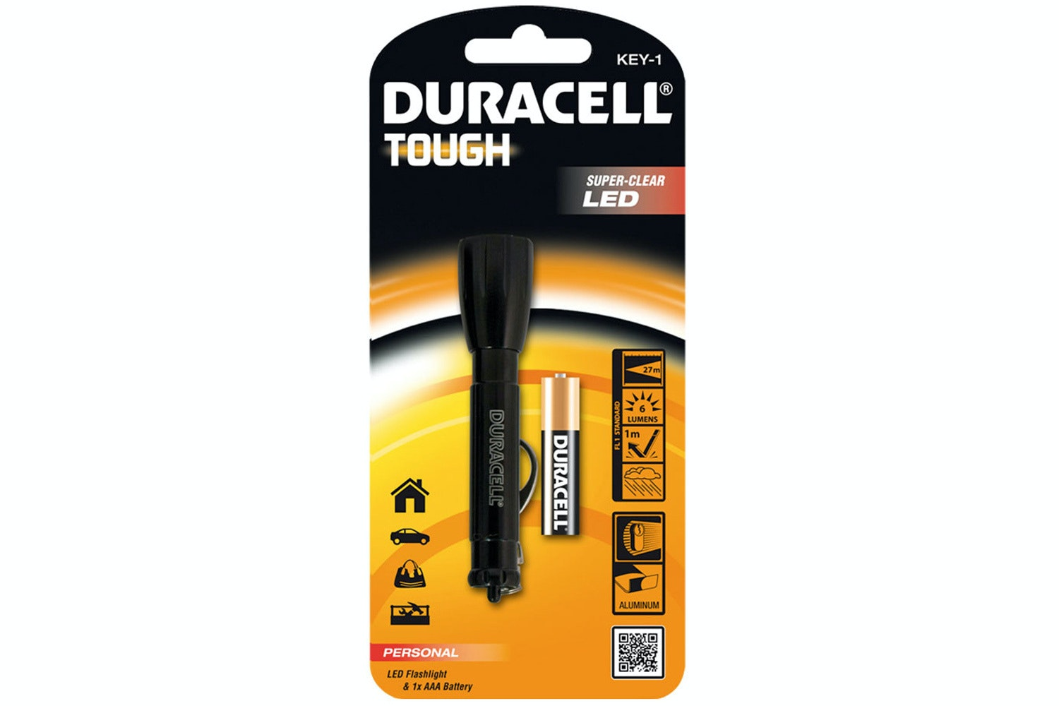 Duracell Torch Key