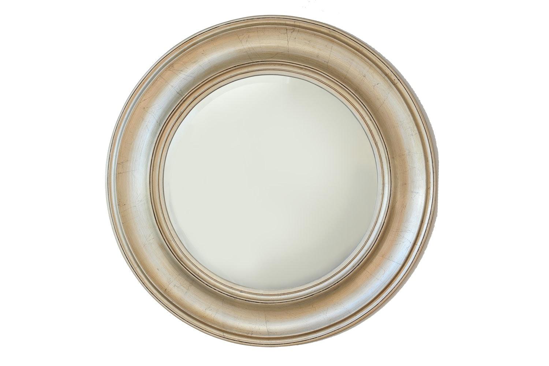 Round Gold 74cm Mirror