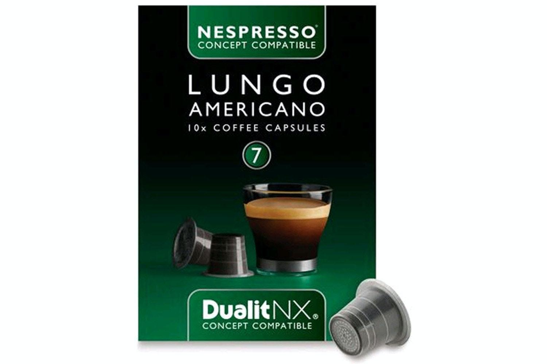 Nespresso Dualit NX Capsules | Lungo Americana