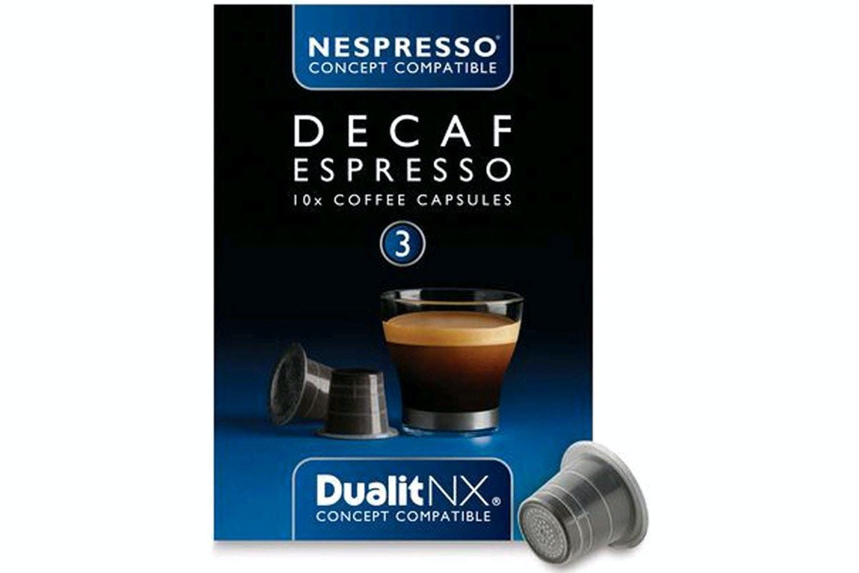 Nespresso Dualit NX Capsules | Decaf Espresso | DLT15704